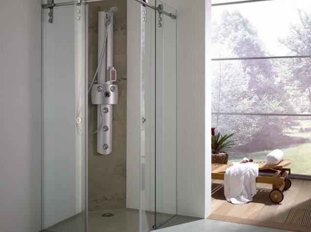 Glas Voor Badkamer : Glazen badkamer deur laat u glazen deur plaatsen door buys glas