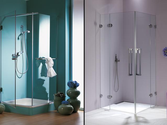 Glazen badkamer deur   Laat u glazen deur plaatsen door Buys Glas