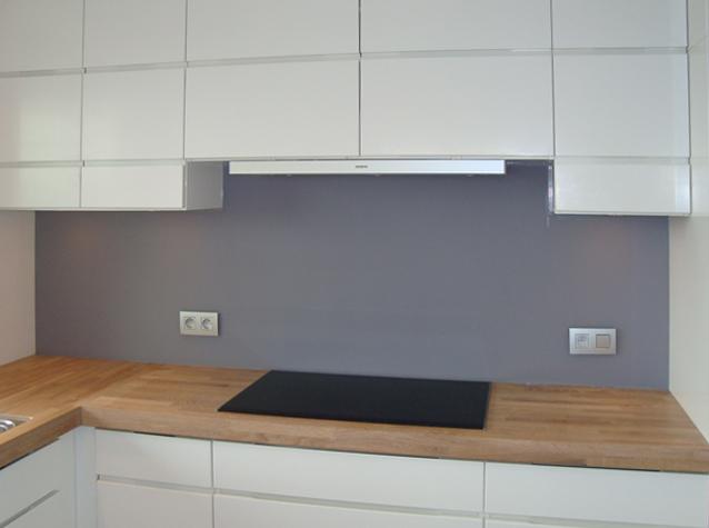 Melkglas Keuken Achterwand : Op maat gemaakte glazen keuken achterwanden buys glas