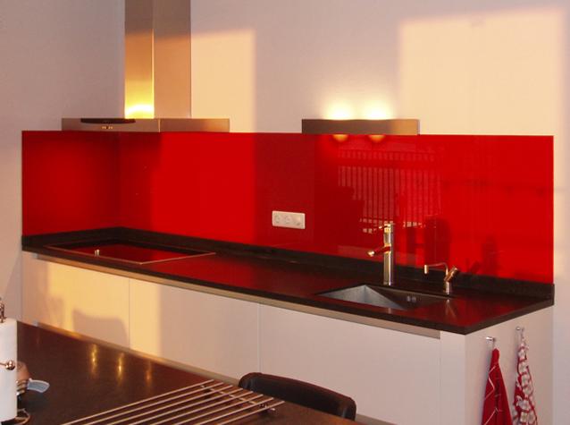 Glazen Achterwand Keuken Limburg : Glazen keuken achterwand Een moderne glas keuken achterwand